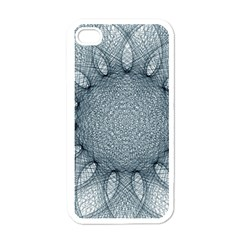 Mandala Apple iPhone 4 Case (White)