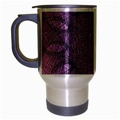 Mandala Travel Mug (Silver Gray)
