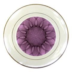Mandala Porcelain Display Plate