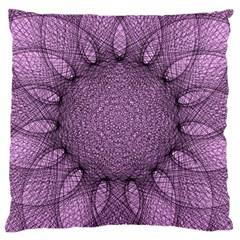 Mandala Large Cushion Case (Single Sided)
