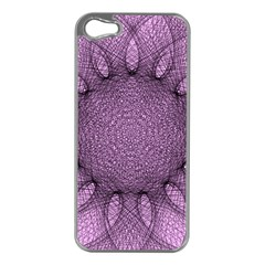 Mandala Apple iPhone 5 Case (Silver)