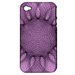Mandala Apple iPhone 4/4S Hardshell Case (PC+Silicone)