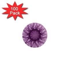 Mandala 1  Mini Button Magnet (100 pack)