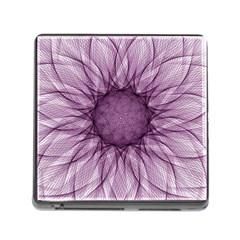 Mandala Memory Card Reader with Storage (Square)