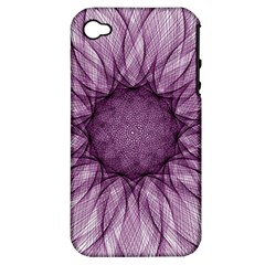 Mandala Apple iPhone 4/4S Hardshell Case (PC+Silicone)