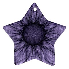 Mandala Star Ornament