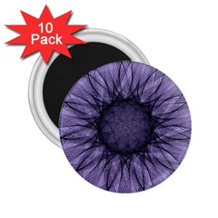 Mandala 2.25  Button Magnet (10 pack)