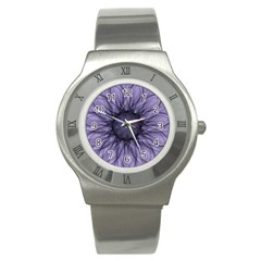 Mandala Stainless Steel Watch (Unisex)