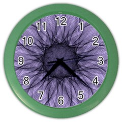 Mandala Wall Clock (Color)