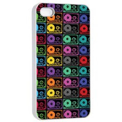 Music case Apple iPhone 4/4s Seamless Case (White)