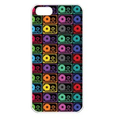 Music case Apple iPhone 5 Seamless Case (White)