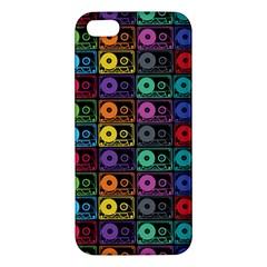 Music case iPhone 5S Premium Hardshell Case