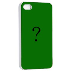 The Riddler Apple Iphone 4/4s Seamless Case (white)