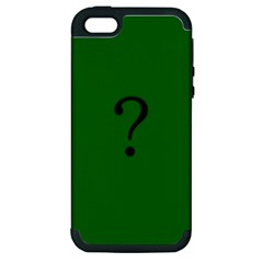 The Riddler Apple Iphone 5 Hardshell Case (pc+silicone)
