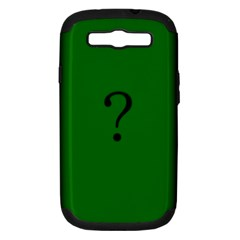 The Riddler Samsung Galaxy S Iii Hardshell Case (pc+silicone)