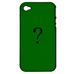 The Riddler Apple iPhone 4/4S Hardshell Case (PC+Silicone)