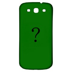 The Riddler Samsung Galaxy S3 S Iii Classic Hardshell Back Case