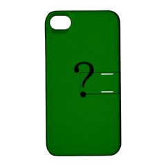 The Riddler Apple iPhone 4/4S Hardshell Case with Stand