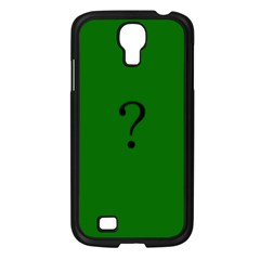 The Riddler Samsung Galaxy S4 I9500/ I9505 Case (Black)
