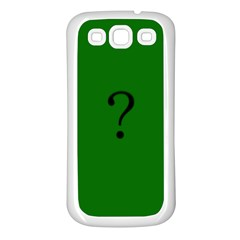 The Riddler Samsung Galaxy S3 Back Case (white)