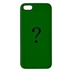The Riddler iPhone 5S Premium Hardshell Case