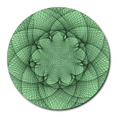 Spirograph 8  Mouse Pad (Round)