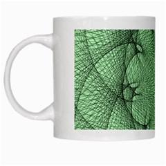 Spirograph White Coffee Mug