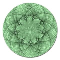 Spirograph Magnet 5  (Round)