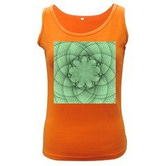 Spirograph Womens  Tank Top (Dark Colored)