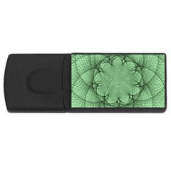 Spirograph 4gb Usb Flash Drive (rectangle)