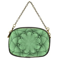 Spirograph Chain Purse (one Side)