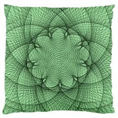 Spirograph Large Cushion Case (single Sided)