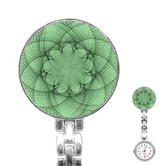 Spirograph Stainless Steel Nurses Watch