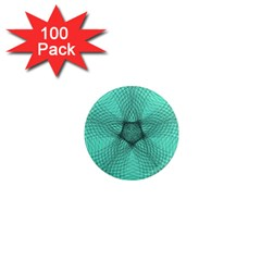 Spirograph 1  Mini Button Magnet (100 pack)