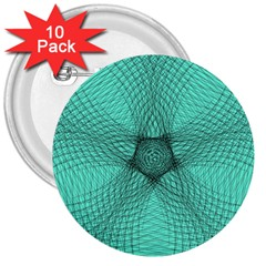 Spirograph 3  Button (10 pack)