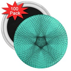 Spirograph 3  Button Magnet (100 Pack)