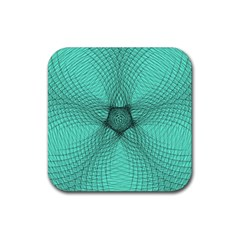 Spirograph Drink Coaster (Square)