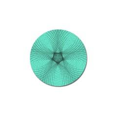 Spirograph Golf Ball Marker