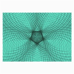 Spirograph Glasses Cloth (Large, Two Sided)