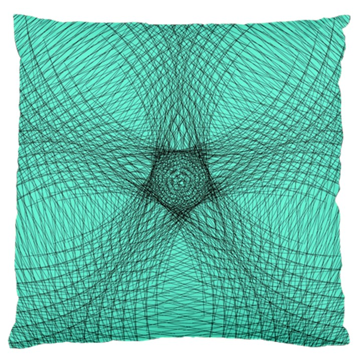 Spirograph Large Cushion Case (Single Sided)