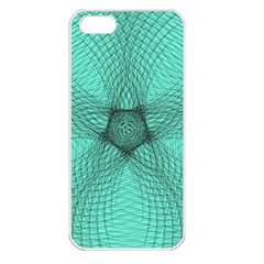Spirograph Apple iPhone 5 Seamless Case (White)
