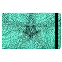 Spirograph Apple iPad 2 Flip Case