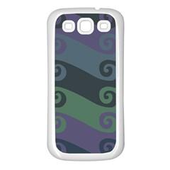 Upsidedown Samsung Galaxy S3 Back Case (White)