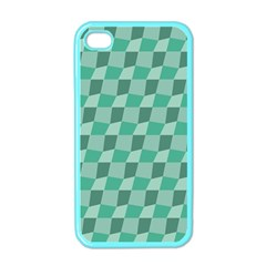 Aqua Apple Iphone 4 Case (color)