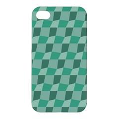 Aqua Apple iPhone 4/4S Premium Hardshell Case
