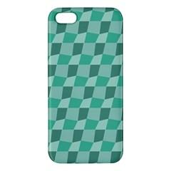 Aqua Iphone 5 Premium Hardshell Case