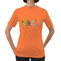 J A Z Z Womens' T-shirt (Colored)