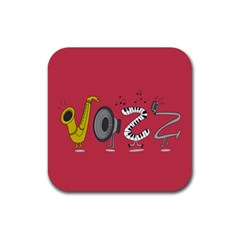Jazz Drink Coasters 4 Pack (square)