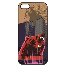 Urban Bear Apple iPhone 5 Seamless Case (Black)