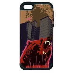 Urban Bear Apple iPhone 5 Hardshell Case (PC+Silicone)